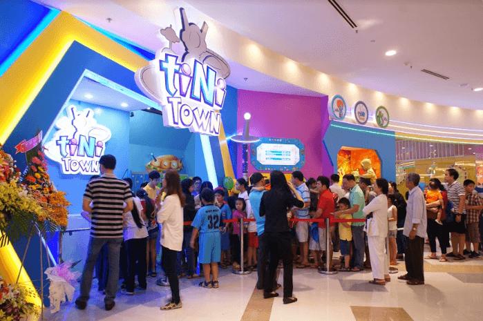 Tiniworld là khu vui chơi tốt nhất Việt Nam